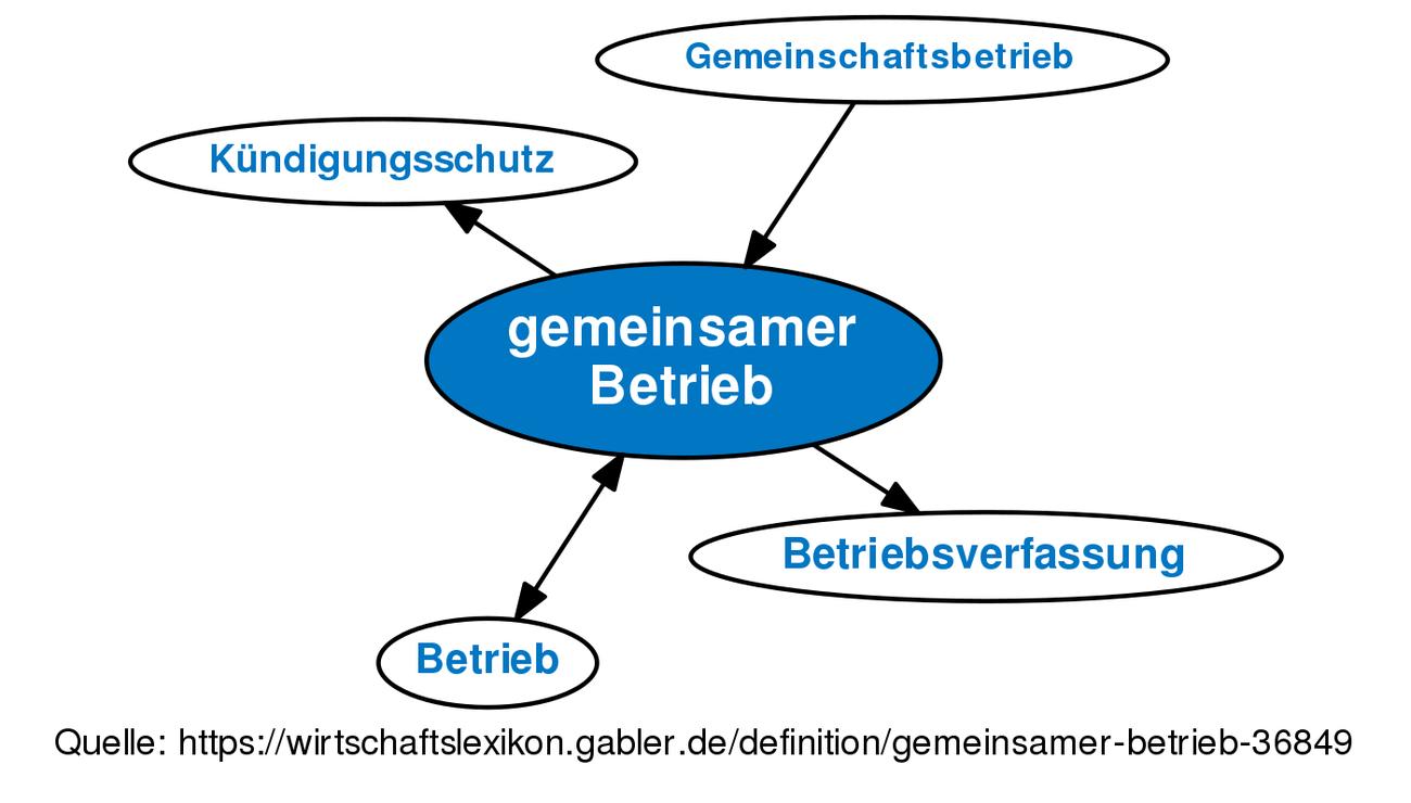 Gemeinsamer Betrieb Definition Gabler Wirtschaftslexikon