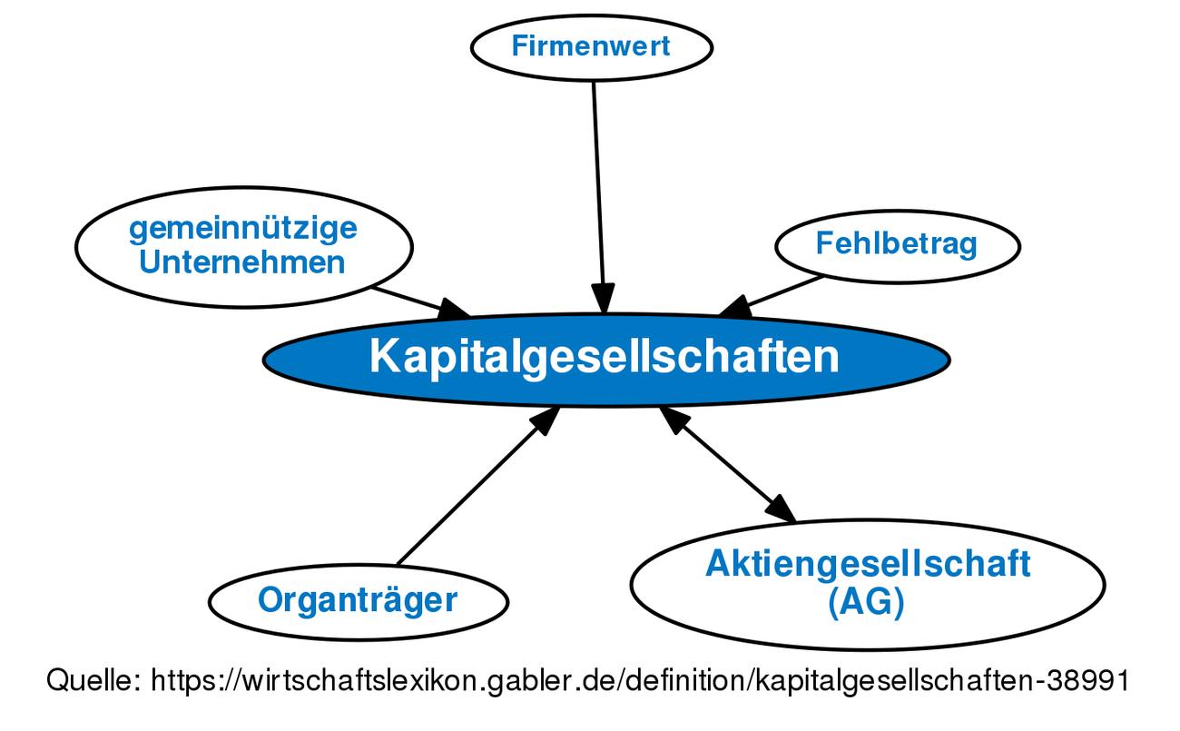 Kapitalgesellschaften • Definition
